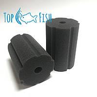 Фильтрующая губка TopFish с прорезями 8х8х12см. круглая