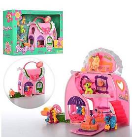 Набор Моя Маленькая Пони. Домик сумочка для Пони 2386 LP My little pony