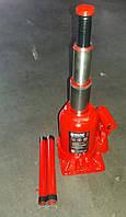 Домкрат гидравлический двухштоковый, красный 6т, H=150/350 <ДК>