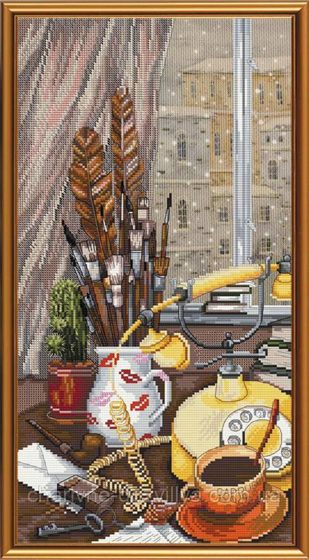 """Набор для вышивания бисером и нитками """"Творческий натюрморт"""""""