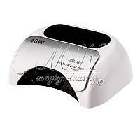 Профессиональная лампа LED + CCFL для сушки гель-лаков и гелей, 48 W  WHITE