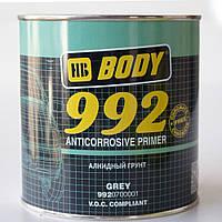 Грунт антикоррозийный BODY (Боди) 992 серый 1 л