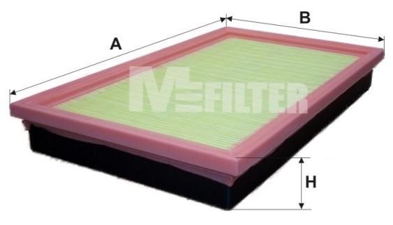 Фильтр воздушный M-Filter K168 (020 AP)
