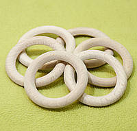 Деревянные кольца для слингобус и грызунков, бук, 53 мм, толщина 7 мм