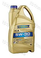 Моторное масло Ravenol 5w30 HLS 4л