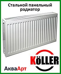 Стальной радиатор Koller 22k 500*400 боковое подключение