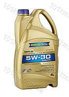 Моторное масло Ravenol 5w30 WIV III 4л