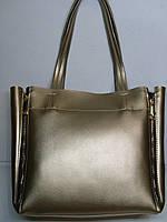 Женская сумка B'ELIT цвета бронзы