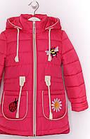Демисезон весенняя осенняя детская подростковая курточка на девочку Пчелка
