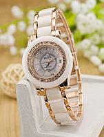 Женские Керамические часы белые
