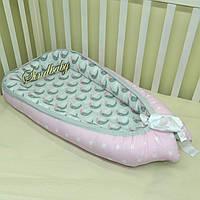 Гнездышко кокон позиционер для новорожденного BabyNest - 09