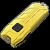 Фонарь Nitecore TUBE - желтый, зарядка от USB, гарантия 60мес