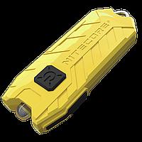 Фонарь Nitecore TUBE - желтый, зарядка от USB, гарантия 60мес, фото 1