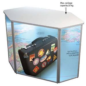 Мобильный промо-стол Panset Hexagonal Counter