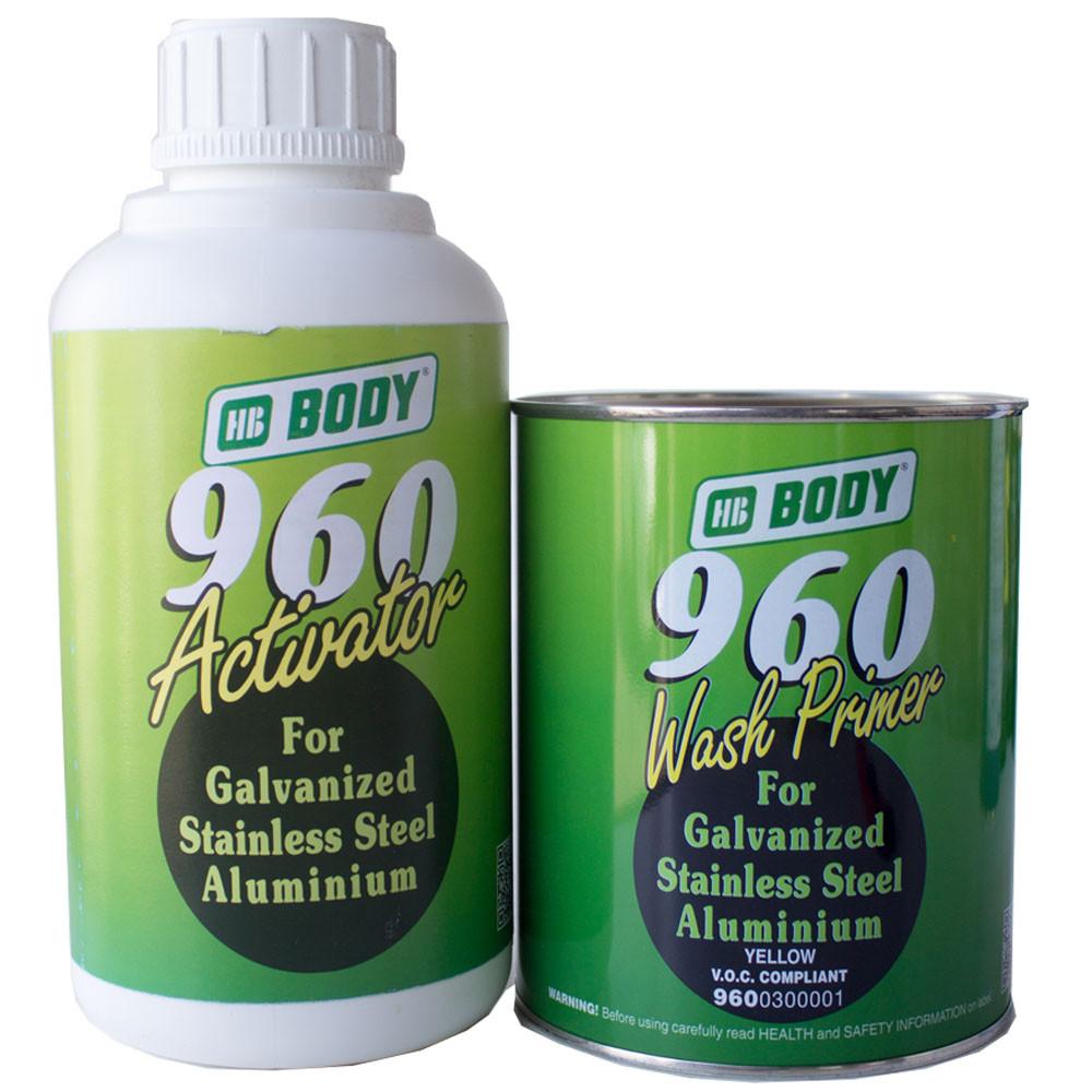 Грунт кислотный Body 960 Wash primer с отвердителем 1л+1л