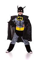 Детский костюм Бэтмен, рост 120-130 см