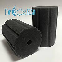 Фильтрующая губка TopFish с прорезями 10х10х15см. круглая