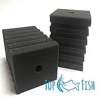Фильтрующая губка TopFish с прорезями 10х10х15см. прямоугольная