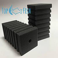 Фильтрующая губка TopFish с прорезями 10х10х20см. прямоугольная