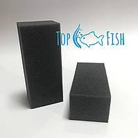 Фильтрующая губка TopFish без прорезей 4х5х12см. прямоугольная