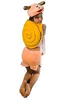 Улитка карнавальный костюм для девочки, мех