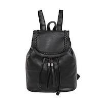 Рюкзак черный женский городской