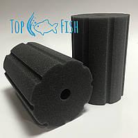 Фильтрующая губка TopFish 10х10х20см цилиндрическая с вертикальной, широкой, не глубокой прорезью
