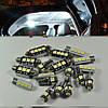 LED, светодиодная, диодная яркая подсветка для внутреннего освещения салона автомобиля VW Volkswagen B6