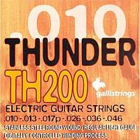 Galli Струны для электрогитары GALLI Thundr Hunter TH200 (10-46) Stainless Steel Regular Light