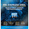 EBS Струны для бас-гитары EBS SS-MD 5-strings (45-125) Stainless Steel
