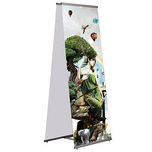 L-баннер Quick Banner Double Sided