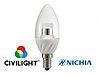 Светодиодная лампа C37 WF25T4 ceramic clear