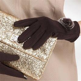 Трикотажные/Кашемировые перчатки
