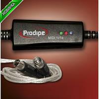 Prodipe USB MIDI интерфейс Prodipe 1in/1out