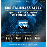 EBS Струны для бас-гитары EBS SS-ML 5-strings (40-125) Stainless Steel