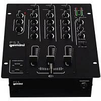 Gemini Микшерный пульт для DJ GEMINI PS-3