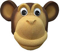 Маска обезьянки из поролона