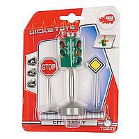 Игровой набор Dickie Toys Светофор и дорожные знаки 3341000 ТМ: Dickie Toys