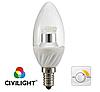 Светодиодная лампа DC37 WP25T4 ceramic clear dimmable