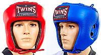 Шлем боксерский открытый кожа TWINS (р-р M-XL)
