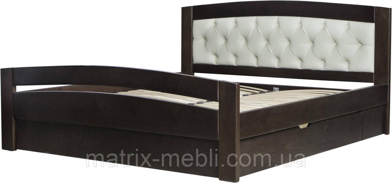 Кровать Верона 2 с мягким изголовьем