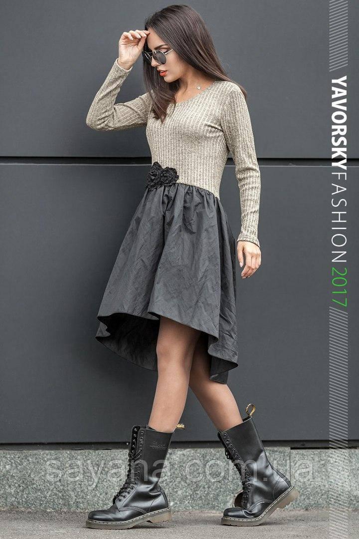 Женское модное платье, 3 цвета. ВС-1-0917
