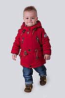 Демисезонная детская парка куртка