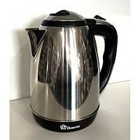 Чайник электрический Domotec MS-5005/5001 2L нержавейка 1500 - 2000 Wt
