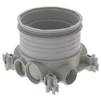 Монтажная коробка Batibox для установки в бетон напольных розеток Legrand, d=80 мм