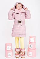 Куртка зимняя для девочки с мехом на воротнике (6 цветов)