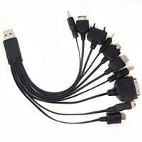 Универсальное зарядное для телефонов 10 в 1 RT683
