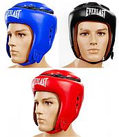 Шлем боксерский открытый с усиленной защитой макушки FLEX EVERLAST (р-р M-XL)