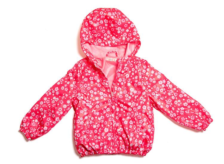 Куртка-ветровка для девочки (98-128 в расцветках)