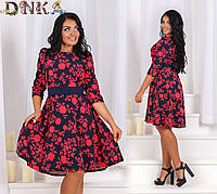 Платье, с1226 ДГ батал, фото 1